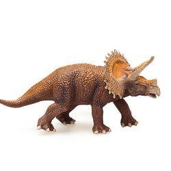 트리케라톱스 브라운 공룡 피규어