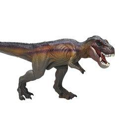 티라노사우루스 티렉스 소형 브라운 공룡 피규어