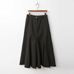 M Mermaid Denim Long Skirt