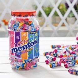 멘토스 미니 뉴레인보우 100입 화이트데이 사탕 선물