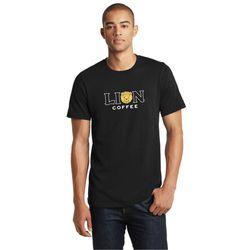 라이언 커피 로고 티셔츠