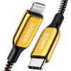 파워라인 플러스 lll 24K 골드 USB C to 라이트닝 케이블 180cm