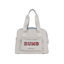 Dumb Bear Most Bag Silver Gray L