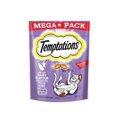 템테이션 메가팩 부드러운 우유맛180g고양이간식