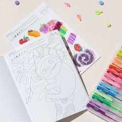 색칠공부 컬러링북