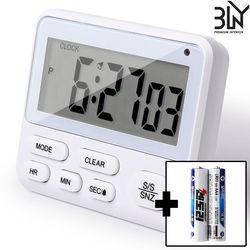 디지털 타이머 주방 운동 공부 제과 벽걸이 스톱워치 시계