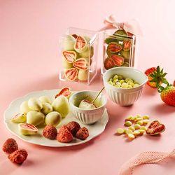 피나포레 발렌타인 눈꽃 딸기 수제 초콜릿 만들기 DIY 키트