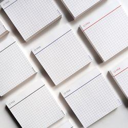 [Simple Grid memo pad] 미니 모눈패드