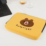 자수포켓 노트북파우치 Surprise (15인치)