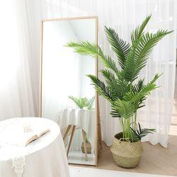 인조나무 그린 아레카야자 170cm 조화 화분 야자나무