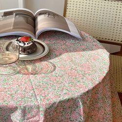 온더로맨틱가든 식탁보 테이블보 130x130cm