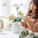 히비스커스 꽃 만들기 diy 세트 마크라메 재료