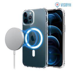 아이폰12 프로맥스 맥세이프 투명케이스 무선충전
