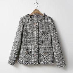 Tweed Vincent Pocket Jacket