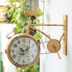 E1022204 자전거 양면시계