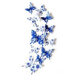 3D 인테리어 나비 데코스티커(꽃)