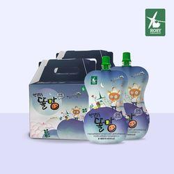 안경도둑똘망 유기농결명자&콩코드포도 주스 2박스(30팩)