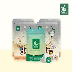 목소리도맑음 배도라지&푸룬 고소한 티백 4박스(40팩)