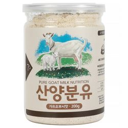 산양분유 가쓰오부시맛 고양이용 200g