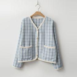 Spring Wool Tweed Jacket