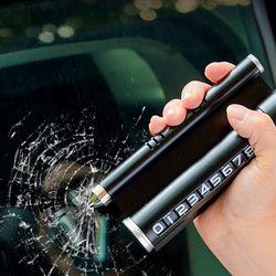 주차번호판 메탈 3WAYS 비상용망치 휴대폰 거치대