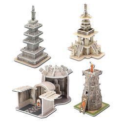 모또 신라문화 시리즈 4종 입체퍼즐 만들기
