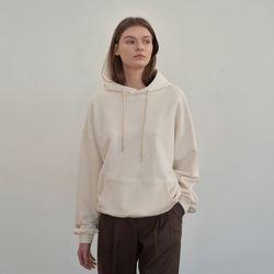 Semi oversized Hoody - Ivory