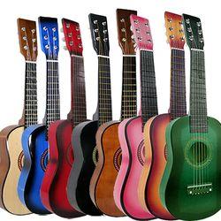 연주가능 미니 기타 클래식 통기타 포크 어린이 기타