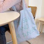the sea and the sunset bag ( sora )