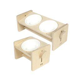 몽글이 원목 세라믹 식기 테이블 1구