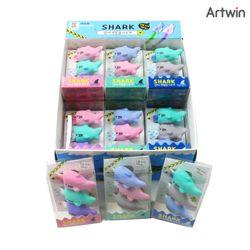 1200 상어 연필캡 지우개 BOX(18)