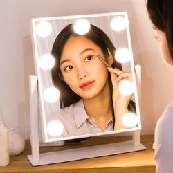 레토 헐리우드 메이크업 LED 일체형 조명 화장대 거울 LLM-U02