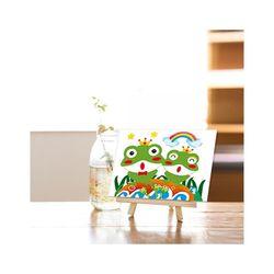 메탈투어 DIY 보석십자수 왕관쓴개구리 10x15
