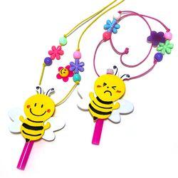 tt01294 만들기 꿀벌 목걸이 피리 (4인용)