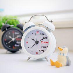 시끄러운알람시계 해머벨 저소음무브먼트 자명종시계