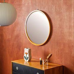 장미맨숀 마르틴 원목 원형 거울