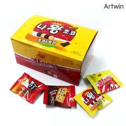 500 해피타임 나왕 초코 BOX(40)