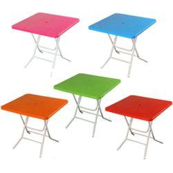 국산 고급2단 대형 우산형 파라솔사각 테이블 (6색)