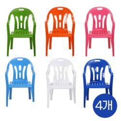 국산 고급2단 대형 우산형 파라솔팔걸의 의자 4개세트