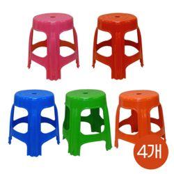 국산 고급2단 대형 우산형 파라솔원형보조의자 4개세