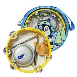 영창 리듬악기 세트 YRS-18B-블루 탬버린 트라이앵글