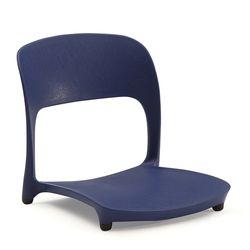 코비아 좌식의자-고정형-블루