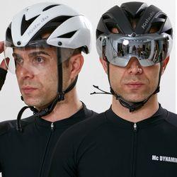 OGK KABUTO 자전거헬멧 에어로R1CV 편광변색고글포함