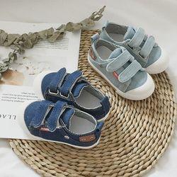 캐쥬얼 밸크로 데님 유아 신발(135-155mm) 301849