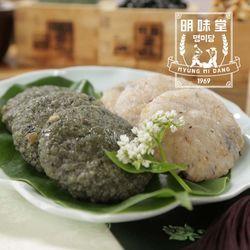 밥알떡 (현미밥알떡10개+쑥밥알떡10개)선물세트