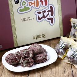 제주오메기떡 60g x 40개명절선물찰떡아침식사개별포장