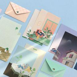 아이코닉 하루 편지지 세트 (편지 봉투 레터)