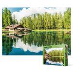 500피스 직소퍼즐 - 돌로미티 카레짜 호수