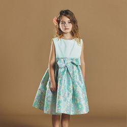 퍼키 아젤리아 오리엔탈 드레스 여아 아동 키즈 리본 원피스