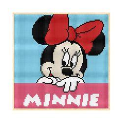 DIY 보석십자수 디즈니 미키마우스 헬로미니 25X25